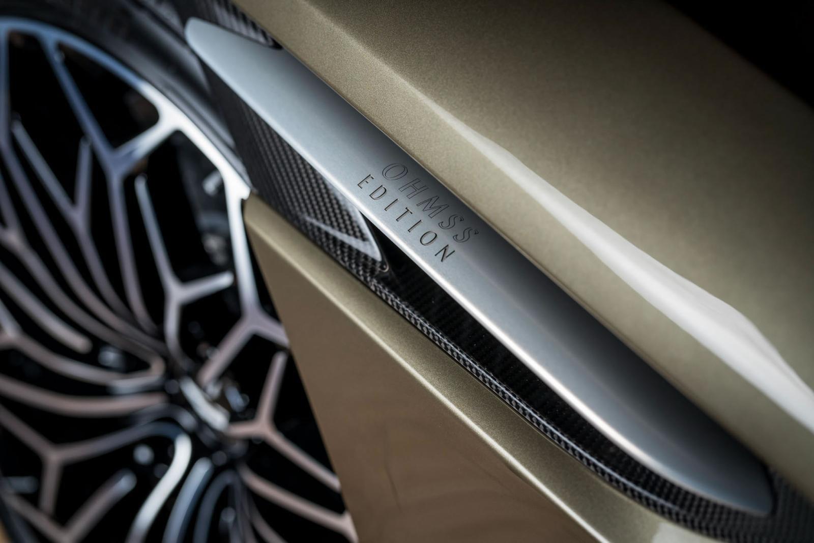 Aston Martin DBS Superleggera ''OHMSS 007 Edition'': Siêu xe lấy cảm hứng từ phim điệp viên 007 a4