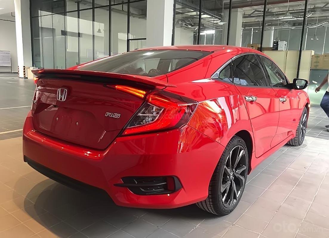 Bán Honda Civic RS 1.5 AT 2019, màu đỏ, xe nhập-1