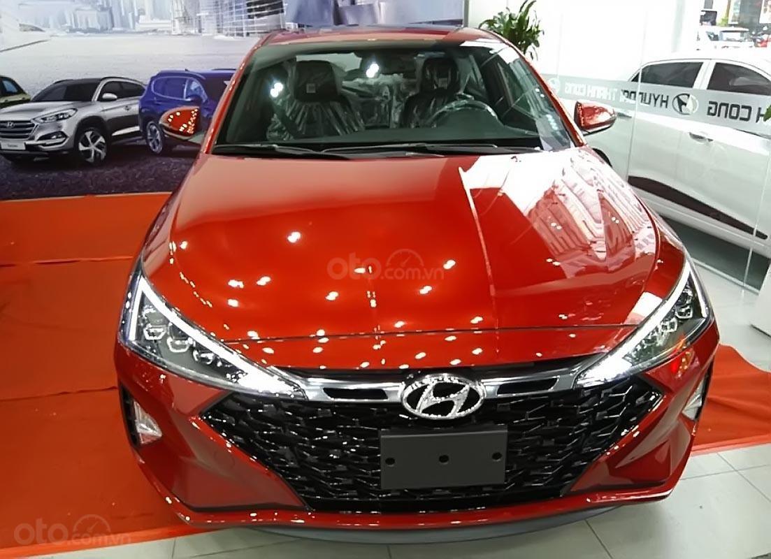 Bán xe Hyundai Elantra Sport 1.6 AT 2019, màu đỏ, 769 triệu-0