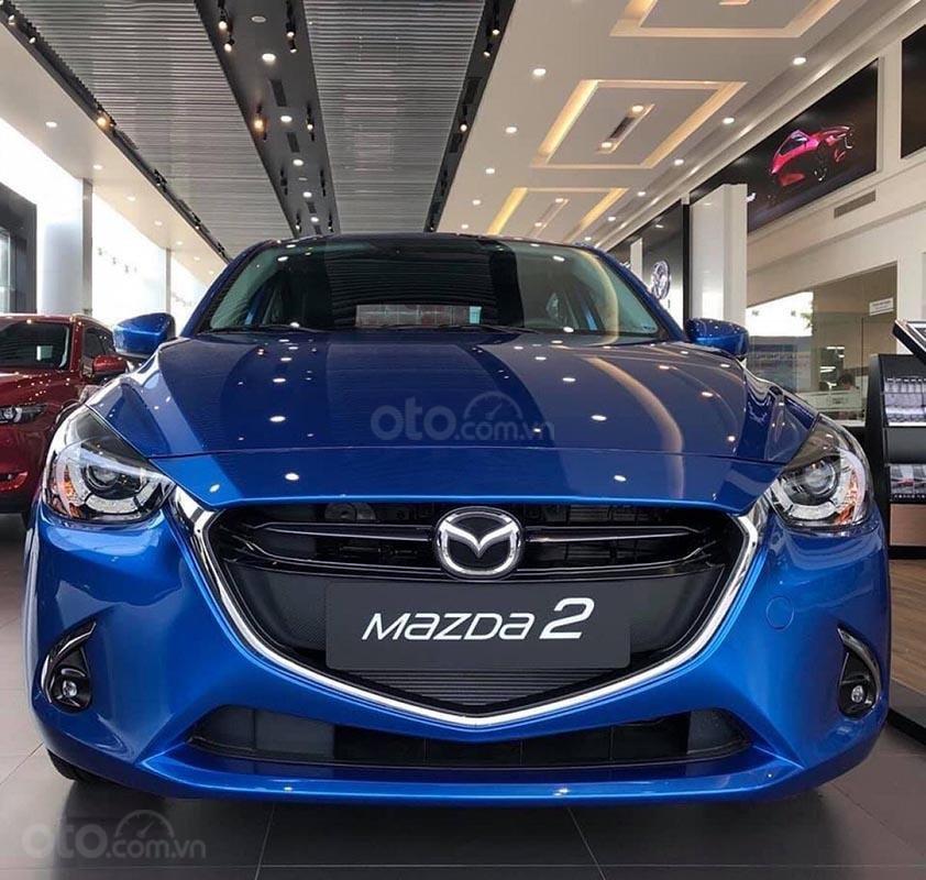 Bán Mazda 2 Premium đời 2019, màu xanh lam, xe nhập -0