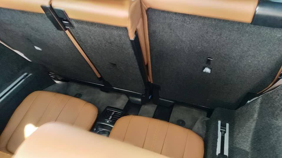 Lột trần nội thất xe SUV VinFast LUX SA2.0, ghế gập phẳng hoàn toàn a6
