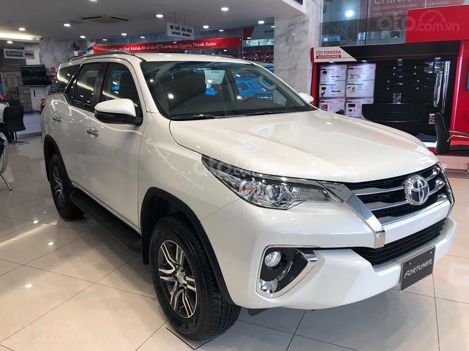 Toyota Fortuner 2019 màu trắng tại Việt Nam
