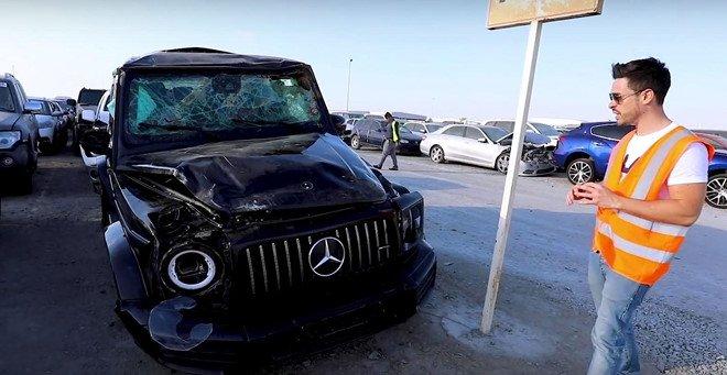 Đi tìm lời giải thích cho việc xe sang, xe siêu sang bị vứt bỏ như rác tại Ả Rập a2