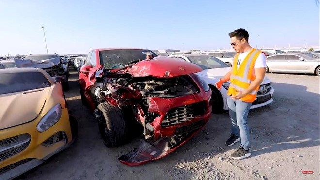 Đi tìm lời giải thích cho việc xe sang, xe siêu sang bị vứt bỏ như rác tại Ả Rập a8