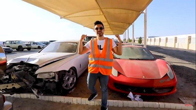 Đi tìm lời giải thích cho việc xe sang, xe siêu sang bị vứt bỏ như rác tại Ả Rập a5