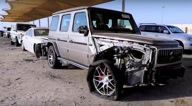 Đi tìm lời giải thích cho việc xe sang, xe siêu sang bị vứt bỏ như rác tại Ả Rập a4