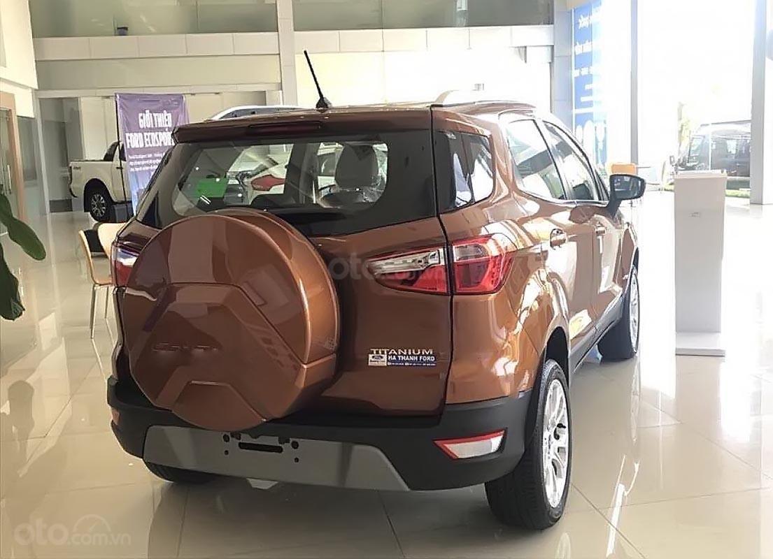 Bán ô tô Ford EcoSport Titanium 1.5L AT sản xuất năm 2019, màu nâu, 650tr-0