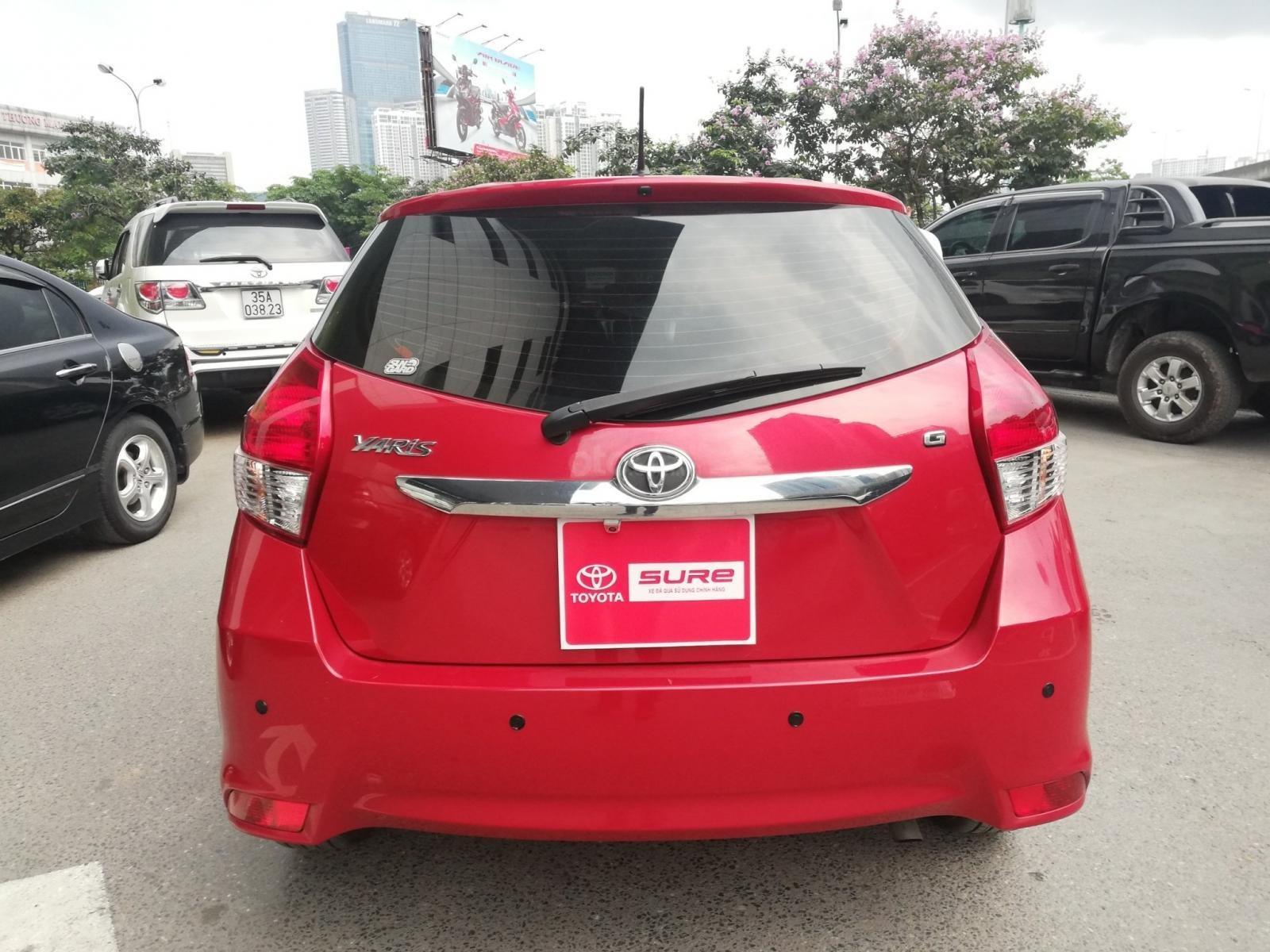 Bán gấp Toyota Yaris 1.5G tự động 2017, đã kiểm tra chất lượng tại hãng-3
