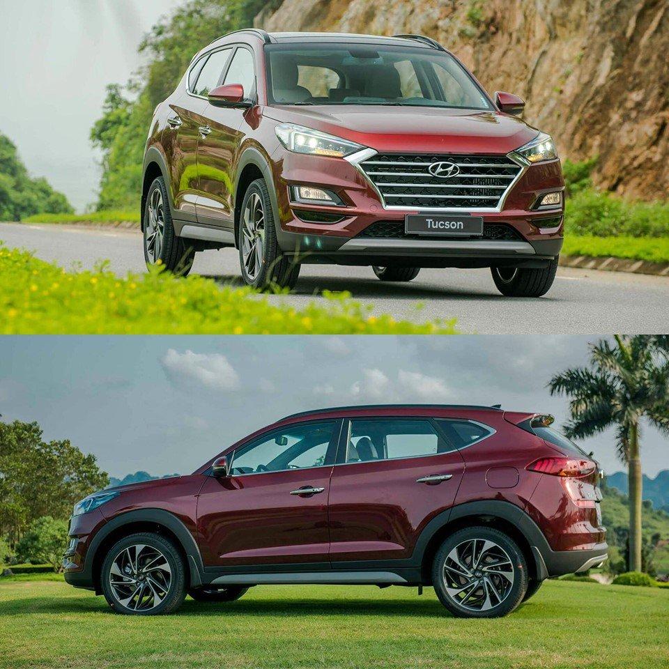 Một số hình ảnh của mẫu Hyundai Tucson 2019 nâng cấp - Ảnh 2.