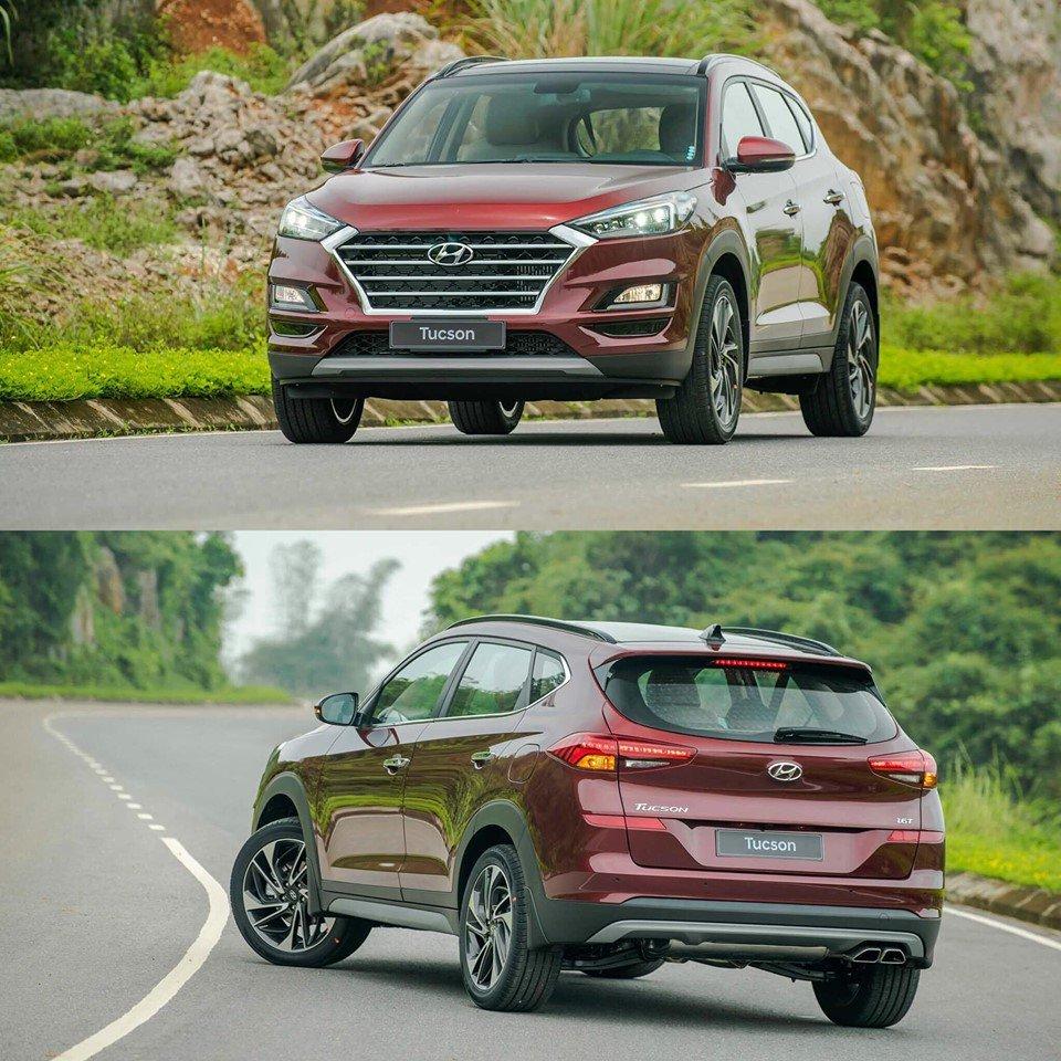 Một số hình ảnh của mẫu Hyundai Tucson 2019 nâng cấp - Ảnh 1.