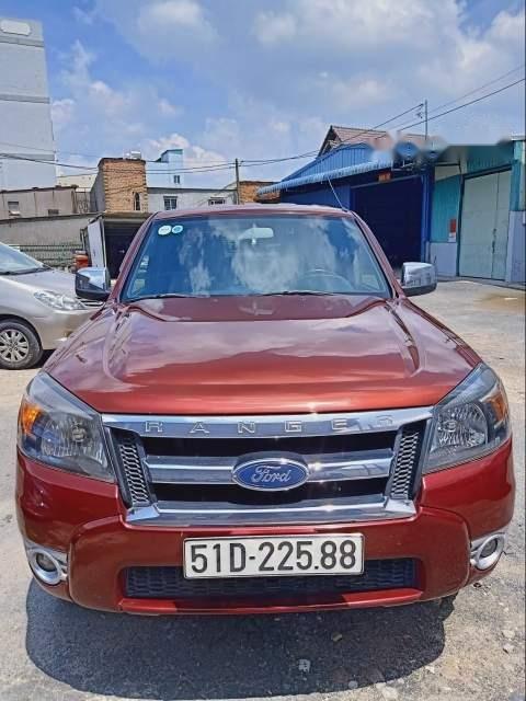 Bán xe Ford Ranger XLT 4x4 năm 2010, màu đỏ, 355 triệu (1)