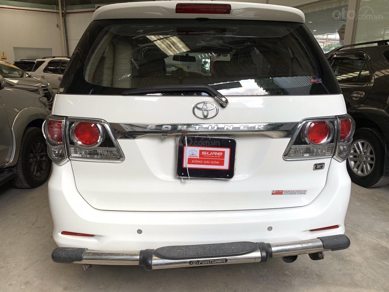 Bán Fortuner G sản xuất 2016, xe đẹp cam kết bao kiểm tra hãng-4
