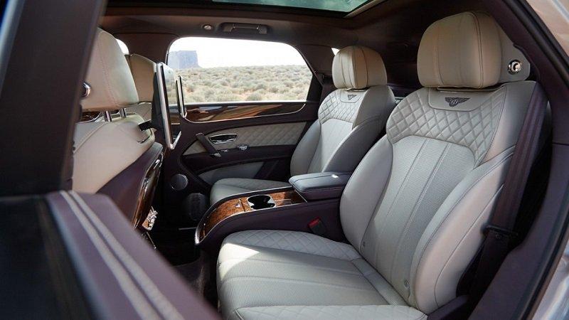 Ghế ngồi Bentley Bentayga 2019...