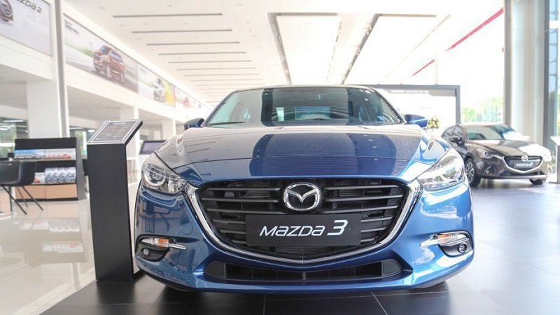Đầu xe Mazda 3 2.0 2019..