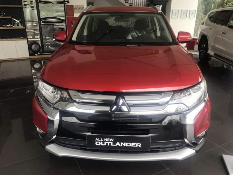 Bán Mitsubishi Outlander đời 2019, màu đỏ-3
