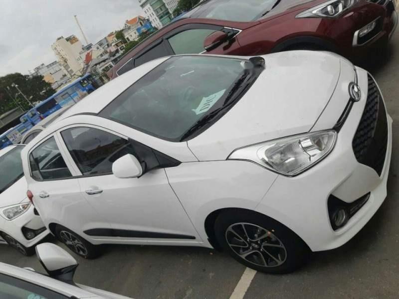 Cần bán xe Hyundai Grand i10 1.2 AT năm sản xuất 2019, màu trắng (1)