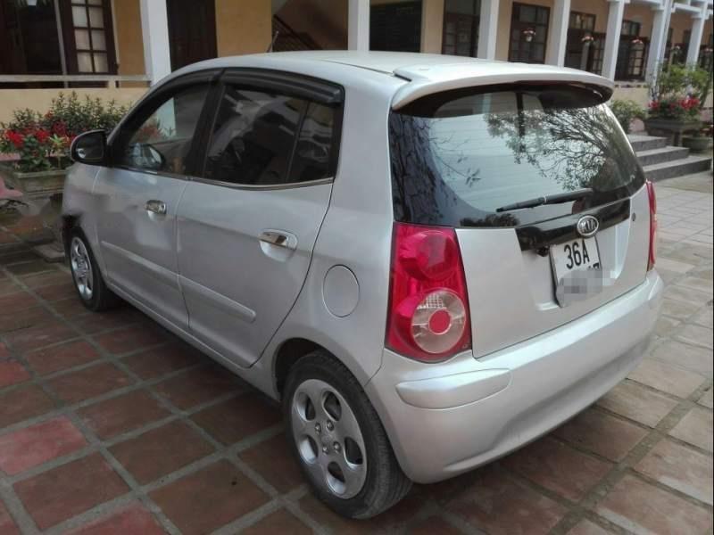 Cần bán lại xe Kia Morning đời 2012, màu bạc số sàn, giá tốt-2