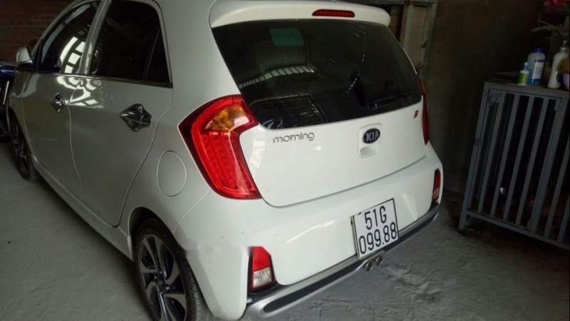 Bán xe Kia Morning đời 2017, màu trắng-1