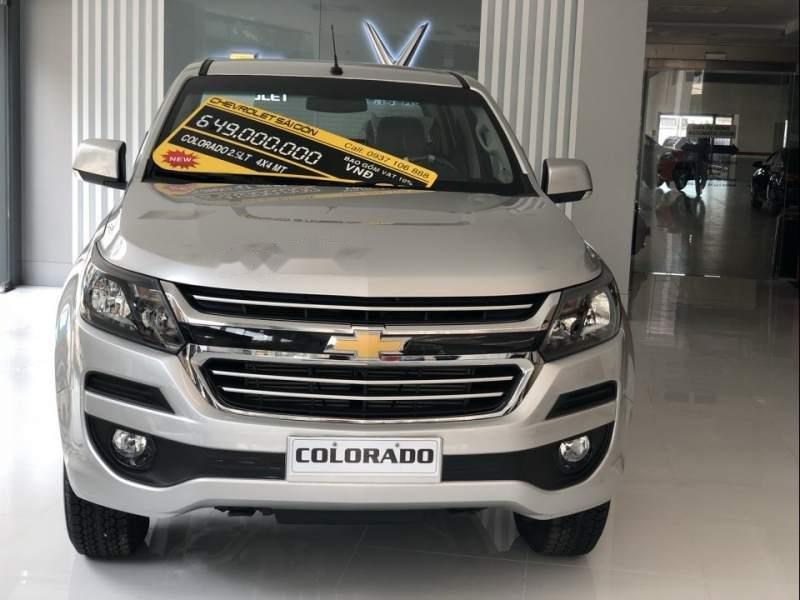 Cần bán xe Chevrolet Colorado đời 2019, màu bạc, nhập khẩu (1)