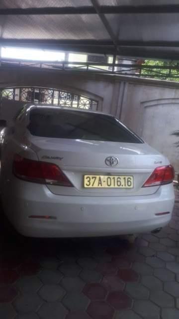 Cần bán Toyota Camry đời 2010, màu trắng, 720 triệu-0