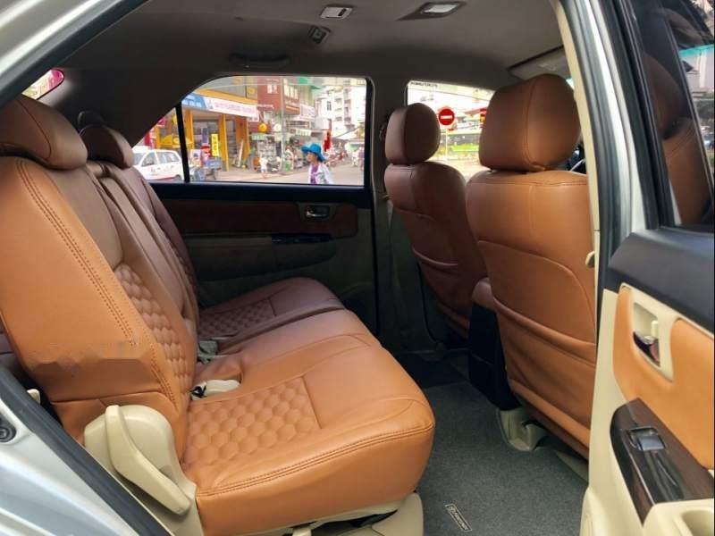Bán Toyota Fortuner G đời 2015, màu bạc xe gia đình-2