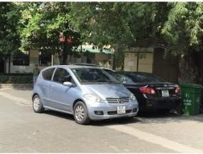 Bán Mercedes A150 sản xuất năm 2008, xe nhập xe gia đình, giá chỉ 320 triệu-0