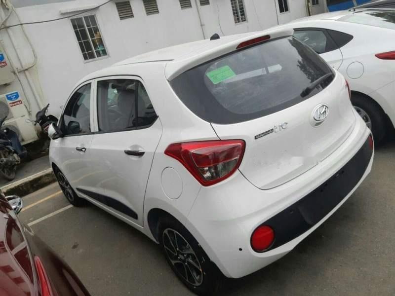 Cần bán xe Hyundai Grand i10 1.2 AT năm sản xuất 2019, màu trắng (4)