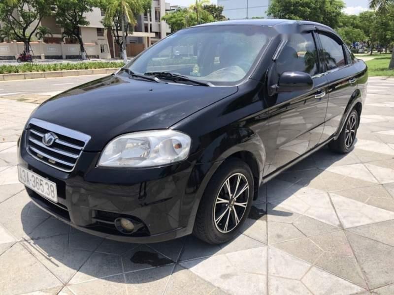 Cần bán gấp Daewoo Gentra đời 2009, màu đen, nhập khẩu xe gia đình, 165 triệu-0