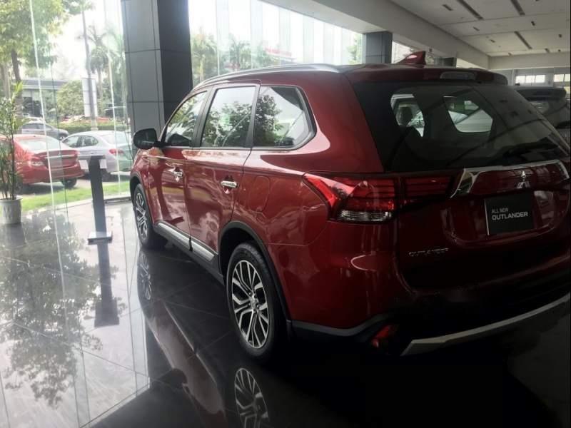 Bán Mitsubishi Outlander đời 2019, màu đỏ-1
