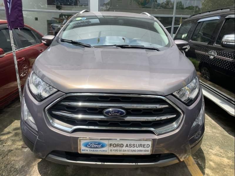 Bán ô tô Ford EcoSport đời 2018, màu xám (1)