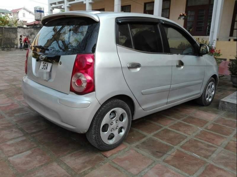 Cần bán lại xe Kia Morning đời 2012, màu bạc số sàn, giá tốt-3