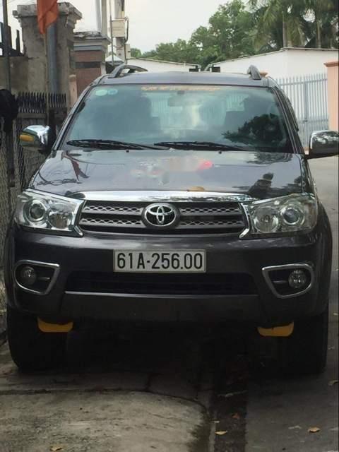 Bán Toyota Fortuner sản xuất năm 2010, màu xám, giá chỉ 650 triệu-0