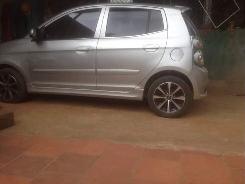 Cần bán lại xe Kia Morning sản xuất năm 2012, màu bạc, 155tr-1