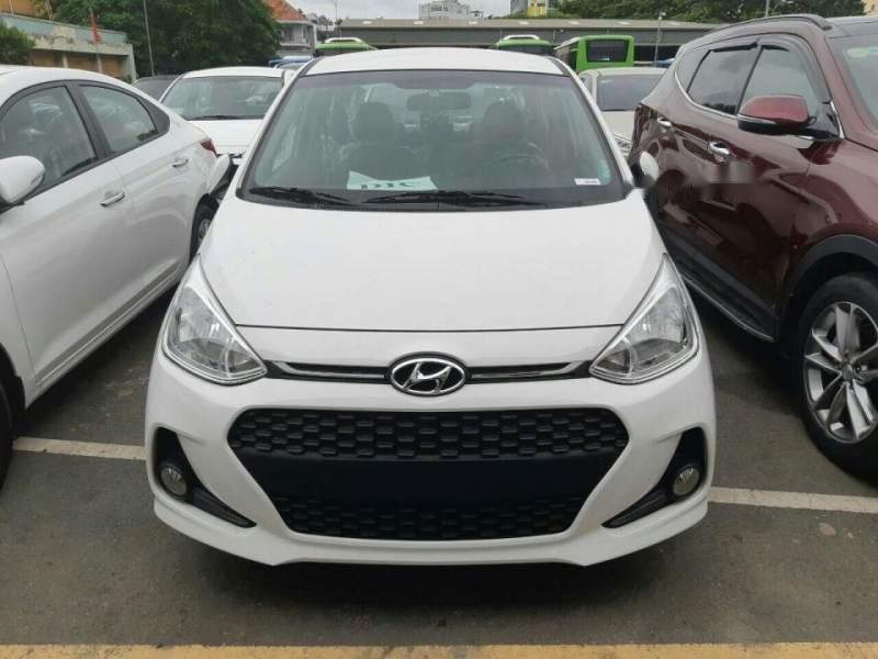 Cần bán xe Hyundai Grand i10 1.2 AT năm sản xuất 2019, màu trắng (2)