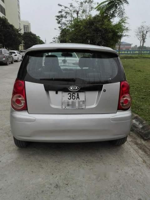 Cần bán lại xe Kia Morning đời 2012, màu bạc số sàn, giá tốt-1
