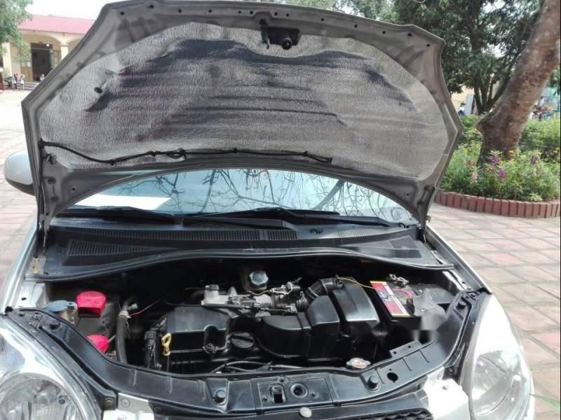 Cần bán lại xe Kia Morning đời 2012, màu bạc số sàn, giá tốt-4