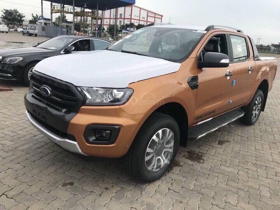 Cần bán Ford Ranger Wildtrak 2.0 4x4 năm 2019, màu cam, nhập khẩu nguyên chiếc, giá chỉ 863 triệu (1)