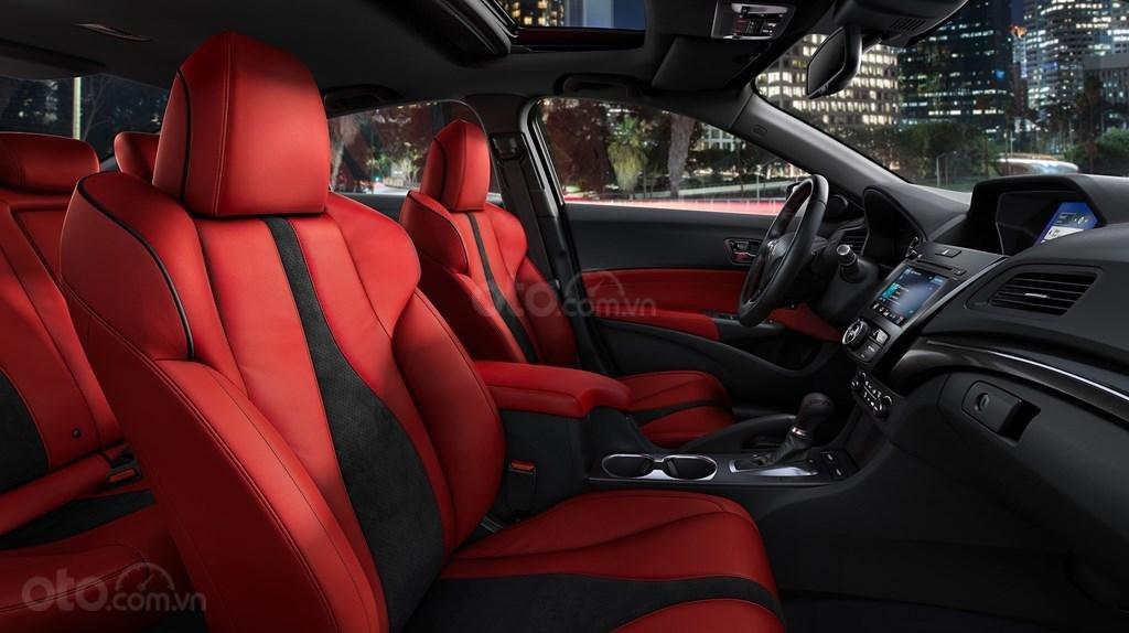 Ghế ngồi trên Acura ILX 2019.