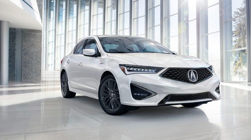 Acura ILX 2019 màu trắng