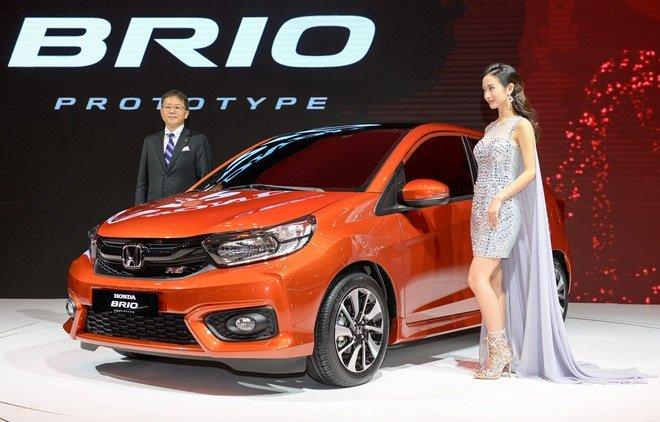 Honda Brio lần đầu tiên được giới thiệu tại VMS 2018...