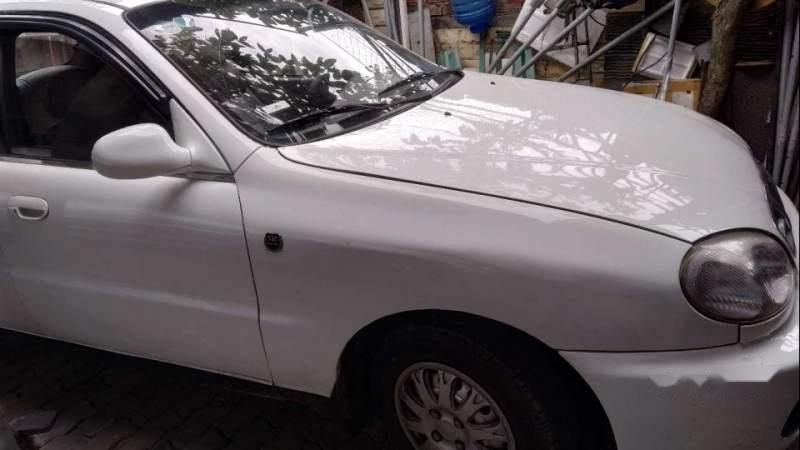 Bán Daewoo Lanos 2001, màu trắng-1