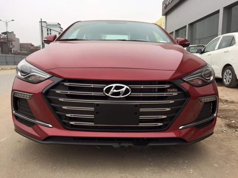 Bán Hyundai Elantra đời 2019, màu đỏ, nhập khẩu nguyên chiếc, giá tốt-3