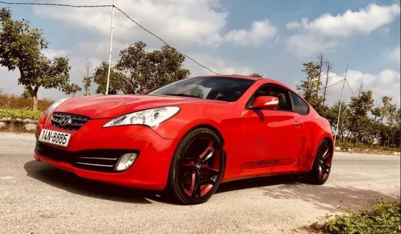 Bán Hyundai Genesis sản xuất 2009, màu đỏ, 465tr-2