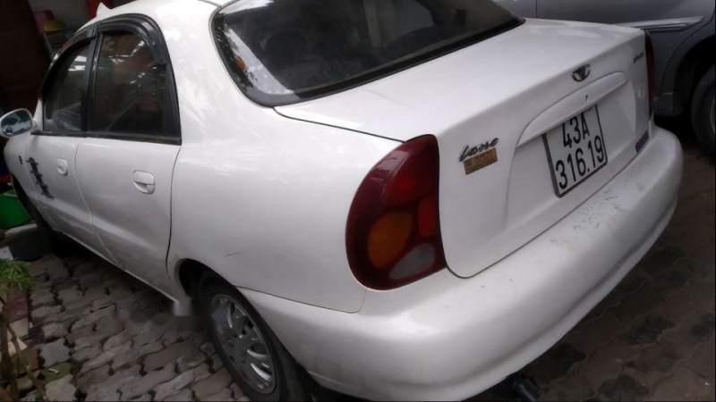 Bán Daewoo Lanos 2001, màu trắng-3