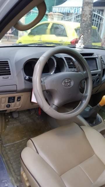 Cần bán xe Toyota Fortuner đời 2009, màu bạc số sàn, giá tốt-3