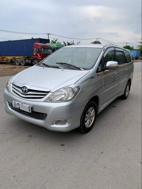Cần bán gấp Toyota Innova J năm sản xuất 2008, màu bạc, nhập khẩu nguyên chiếc, giá 262tr-0