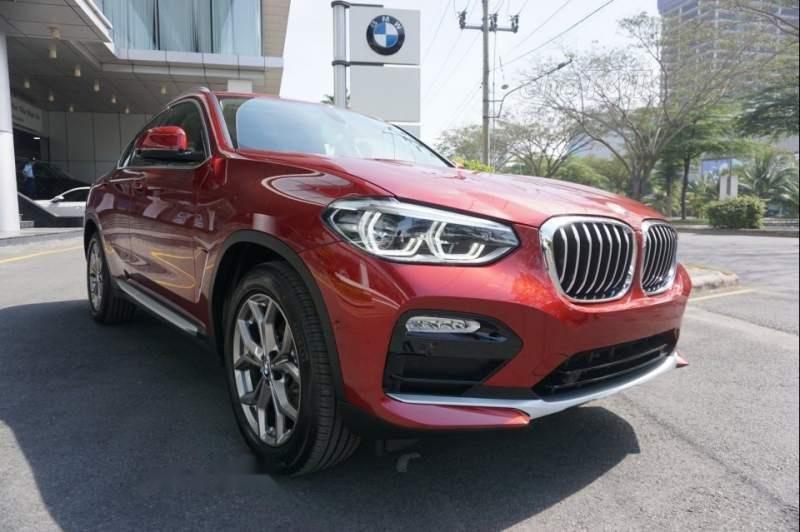 Bán ô tô BMW X4 sản xuất 2019, màu đỏ, nhập khẩu nguyên chiếc-0