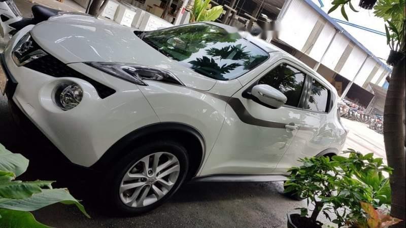 Cần bán gấp Nissan Juke sản xuất năm 2015, màu trắng đẹp như mới, 745 triệu (1)