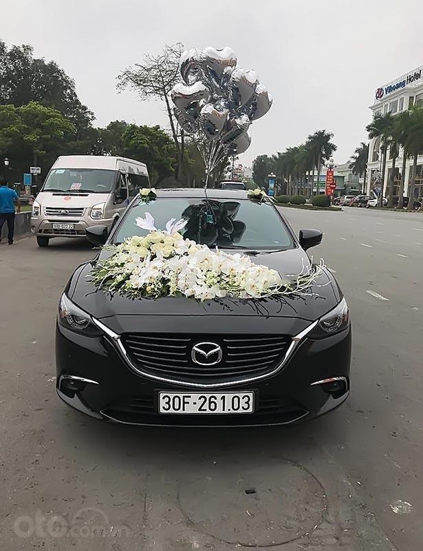 Cần bán Mazda 6 đời 2017, màu đen, giá chỉ 850 triệu-0