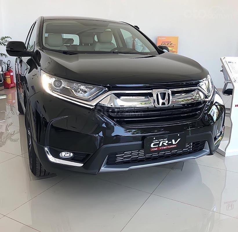 Bán Honda CR V E năm sản xuất 2019, màu đen, nhập khẩu nguyên chiếc (1)